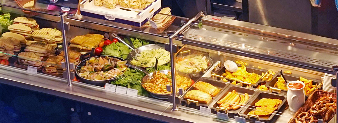 food at the airport